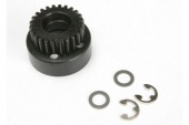 фото Clutch bell, (24-tooth)/ 5x8x0.5mm fiber washer (2)/ 5mm E-clip (requires #4611-ball bearings, 5x11x