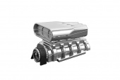 фото Mock Intake and Blower Set, Chrome