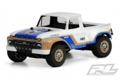 фото Кузов трак 1/8 - 1966 Ford F-150 Clear Body for Slash®, Slash® 4X4, and SC10 (requires extended body mount kit)