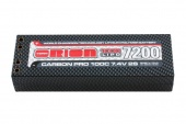 фото аккумулятор carbon pro team orion lipo 7,4v (2s) 7200mah 100c hard case tubes