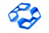 фото RPM Nerf Bars Blue 1/10 Rally/LCG Slash 2WD/4x4