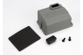 фото Cover, Receiver (1)/x-tal access rubber plug/adhesive foam chassis pad/ 3x8mm BCS (2)