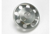 фото Flywheel, (larger, knurled for use with starter boxes) (TRX 2.5 and TRX 2.5R) (silver anodized)