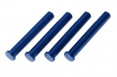 фото Blue Aluminum Main Shafts LaTrax Alias