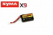 фото lipo 3,7в(1s) 500mah 20c soft case molex plug (for syma x9)