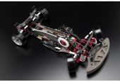 фото Шасси дрифт YOKOMO 1/10 - Drift Package A-arm DIB Red Color vervv