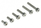 фото Aluminum 7075 Lightweight Socket Head Cap Screw (12) 3x8mm