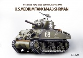 фото Танк Heng Long US Sherman M4A3 3898-1