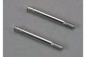 фото Shock shafts, steel, chrome finish (32mm) (2)