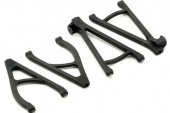 фото Suspension arm set, rear, extended wheelbase (lengthens wheelbase 10mm) (includes upper right &