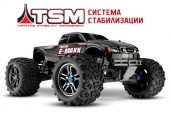 E-Maxx Brushless 1/10 4WD TQi Ready to Bluetooth Module TSM (w/o Battery and Charger)