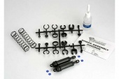 фото Ultra Shocks (black) (xx-long) (complete w/ spring pre-load spacers & springs) (rear) (2)